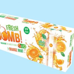 fresh bomb orange mint