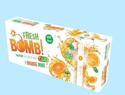 Tubos Fresh Bomb Orange Mint