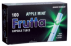 Tubos FRUTTA Cápsula Apple-Mint