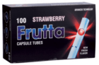 Tubos FRUTTA Cápsula Strawberry